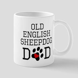 Old English Sheepdog Dad Mugs