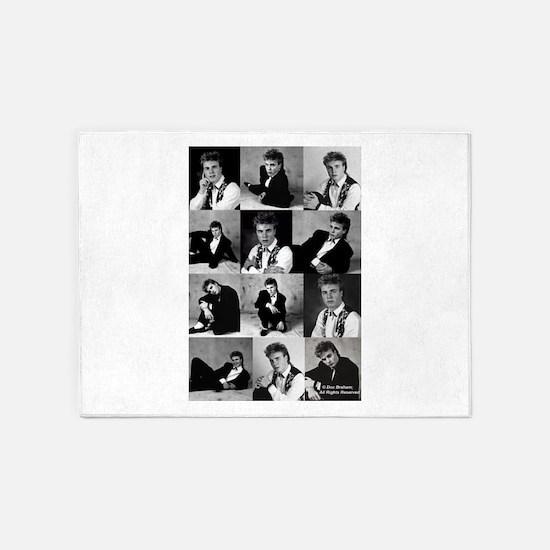 Gary Barlow - 1st Professional Phot 5'x7'Area Rug