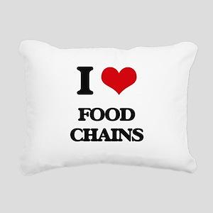 food chains Rectangular Canvas Pillow