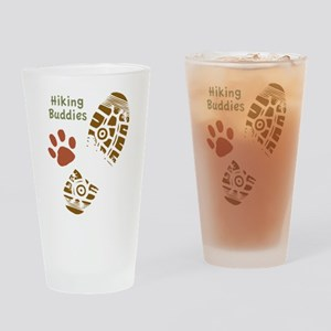 Hiking Buddies Drinking Glass