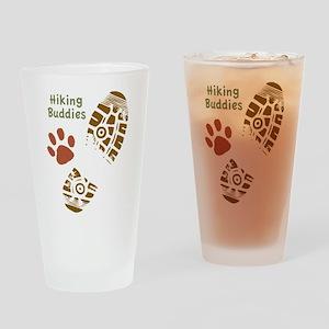 Hiking Buddies Drinking Glass