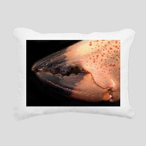 Crab Pincer Rectangular Canvas Pillow