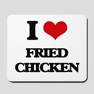 fried chicken Mousepad