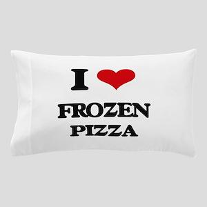 frozen pizza Pillow Case