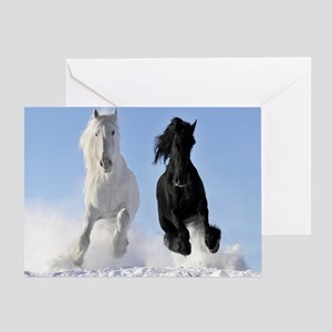 Beautiful Horses Greeting Cards