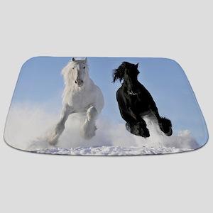 Beautiful Horses Bathmat