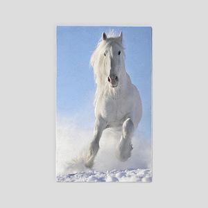 Beautiful Horses Area Rug