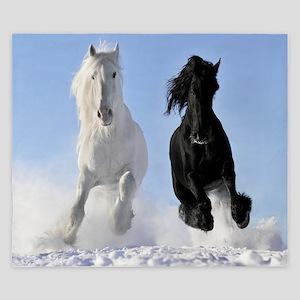 Beautiful Horses King Duvet