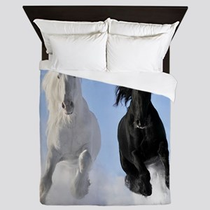 Beautiful Horses Queen Duvet