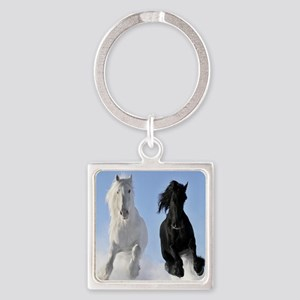 Beautiful Horses Keychains