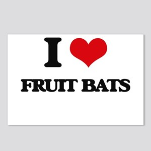 fruit bats Postcards (Package of 8)