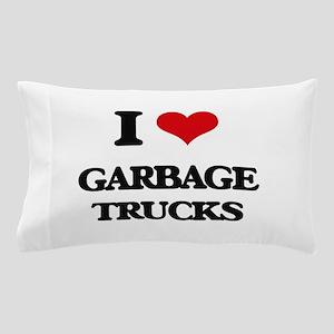 garbage trucks Pillow Case