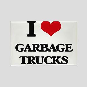 garbage trucks Magnets