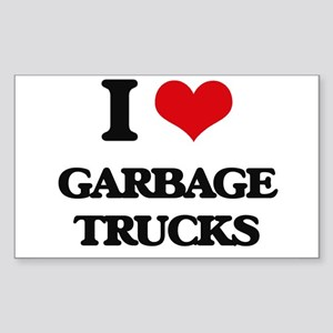 garbage trucks Sticker