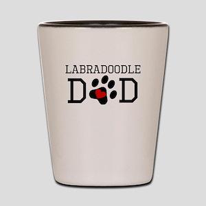 Labradoodle Dad Shot Glass