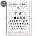 Itrr - Records Eye Chart - Format Puzzle