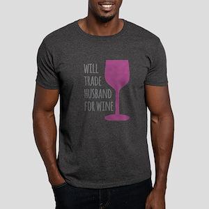 Husband For Wine Dark T-Shirt