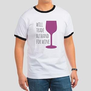 Husband For Wine Ringer T