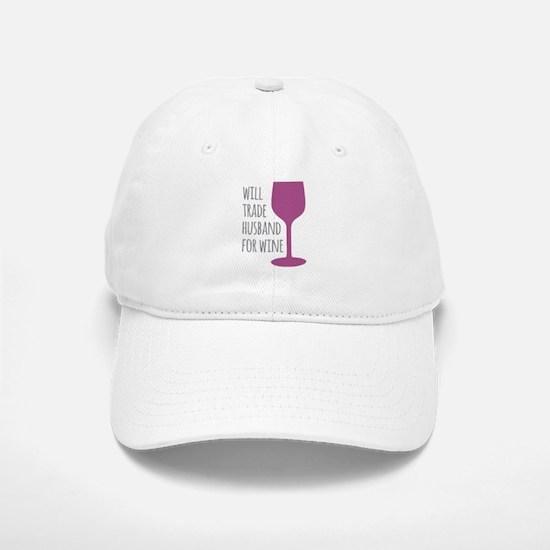 Husband For Wine Baseball Baseball Cap