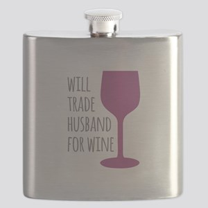 Husband For Wine Flask
