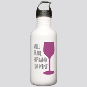 Husband For Wine Stainless Water Bottle 1.0L