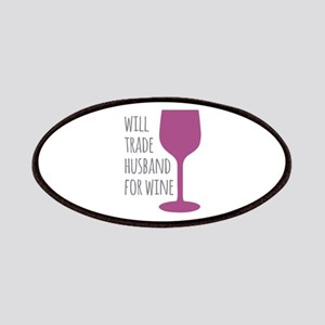 Husband For Wine Patches