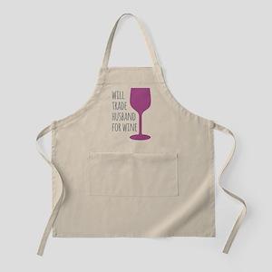 Husband For Wine Apron
