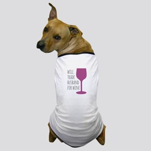 Husband For Wine Dog T-Shirt
