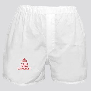 Keep calm I'm the Evangelist Boxer Shorts