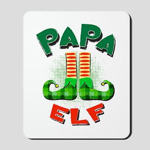 Papa Elf Mousepad