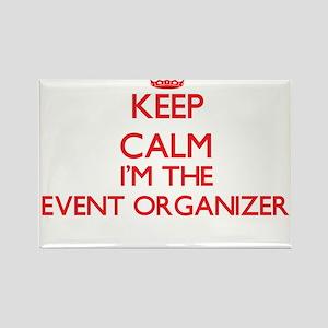 Keep calm I'm the Event Organizer Magnets
