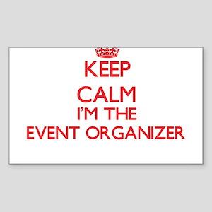 Keep calm I'm the Event Organizer Sticker