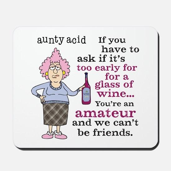 Aunty Acid: Amateur Mousepad