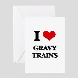 gravy trains Greeting Cards