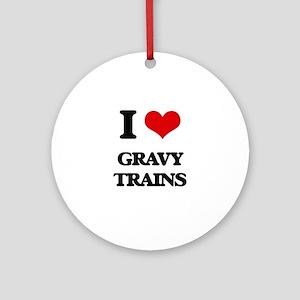 gravy trains Ornament (Round)