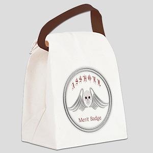 Asshole Merit Badge Canvas Lunch Bag