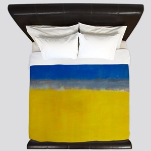 ROTHKO BLUE YELLOW King Duvet