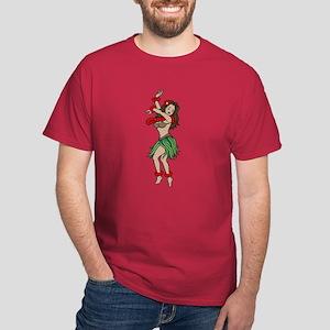 Hula Girl Dark T-Shirt