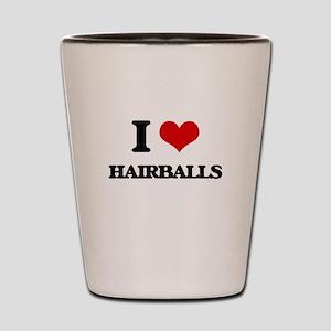 hairballs Shot Glass