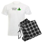 Irish Beer Drinker Men's Light Pajamas