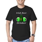 Irish Beer Drinker Men's Fitted T-Shirt (dark)