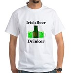 Irish Beer Drinker White T-Shirt