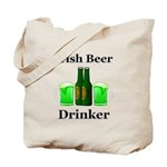 Irish Beer Drinker Tote Bag