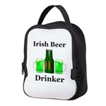 Irish Beer Drinker Neoprene Lunch Bag