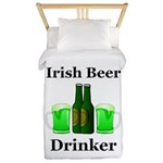 Irish Beer Drinker Twin Duvet