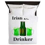 Irish Beer Drinker Queen Duvet