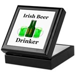 Irish Beer Drinker Keepsake Box