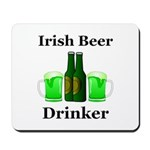 Irish Beer Drinker Mousepad
