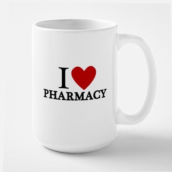 I Love Pharmacy Large Mug