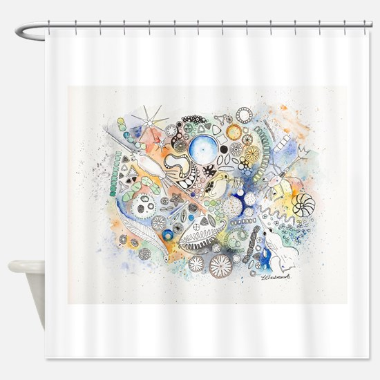 Unique Biology Shower Curtain